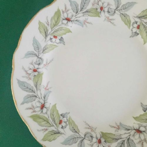 Salisbury China - Christmas Tea Plate - 50s 60s